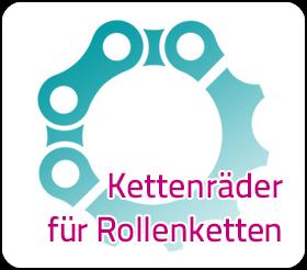 Kettenräder für Rollenketten